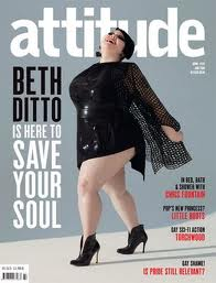 Beth Ditto de The Gossip: Cover girl