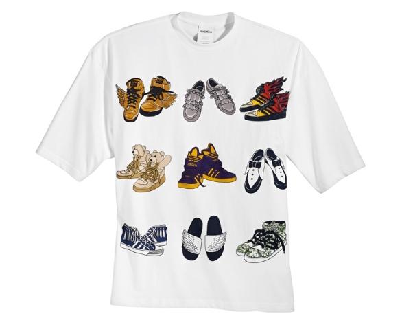 Encontré la única manera de querer/poder/tener 9 pares de Adidas by Jeremy Scott
