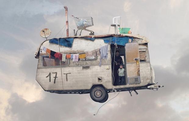 Casas voladoras: El otro significado de vivir en las nubes