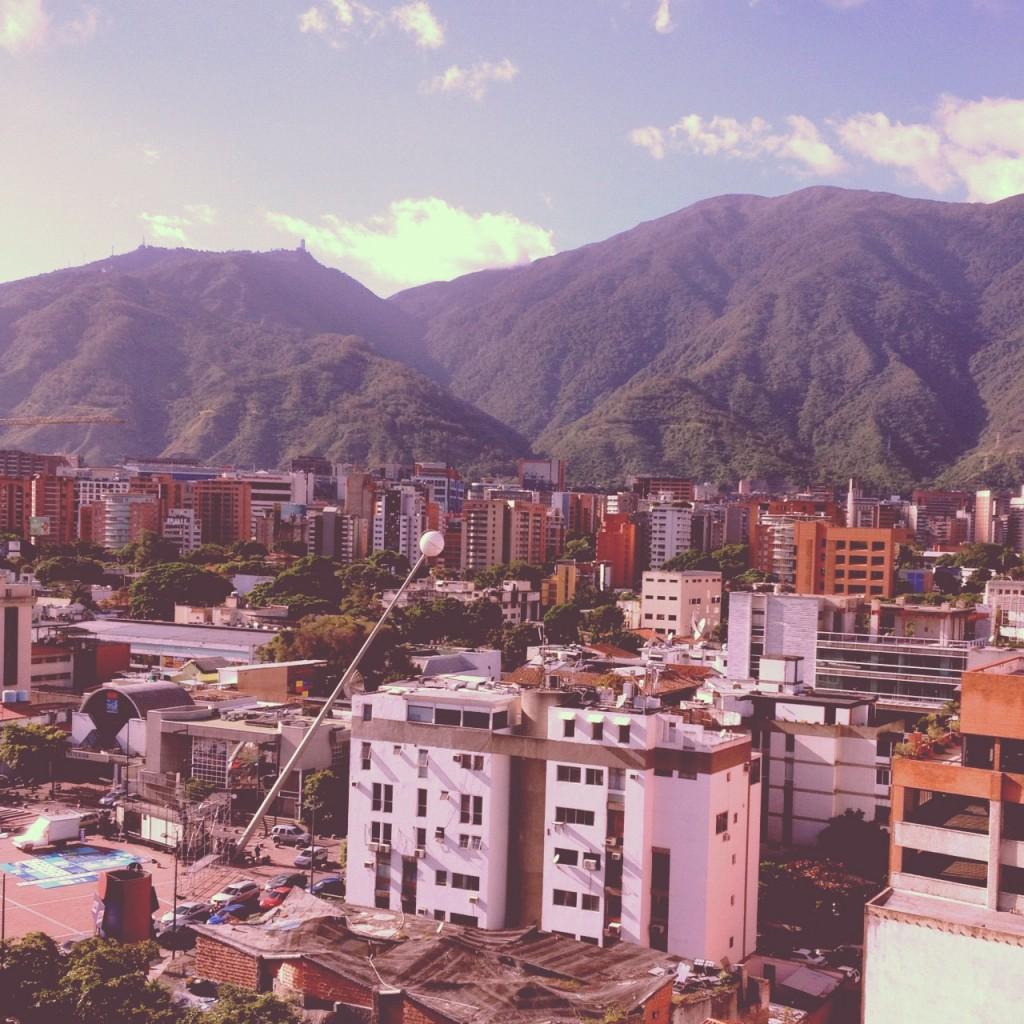 Caracas con filtro 1977