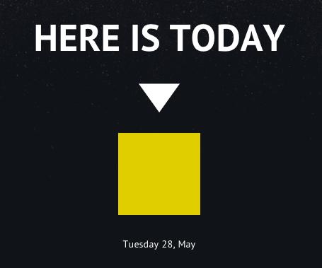 Aquí es hoy: Internet nos sienta