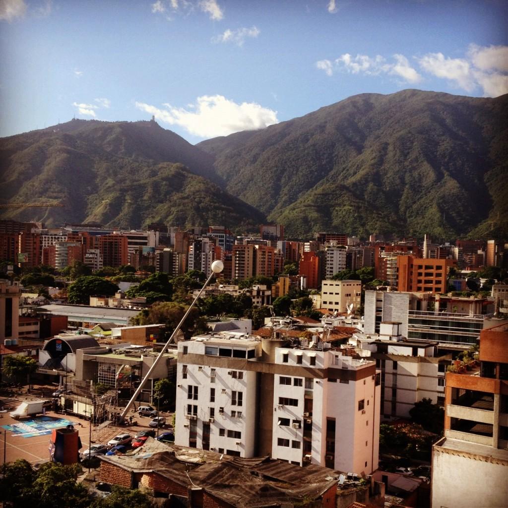 Caracas con el filtro Hefe