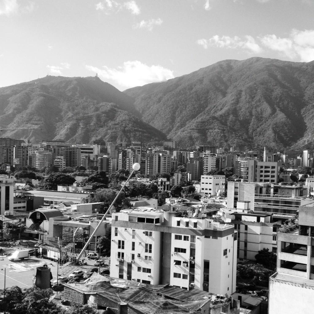 Caracas con el filtro Inkwell