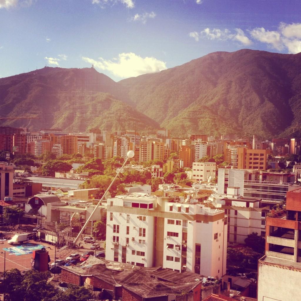 Caracas con el filtro Toaster