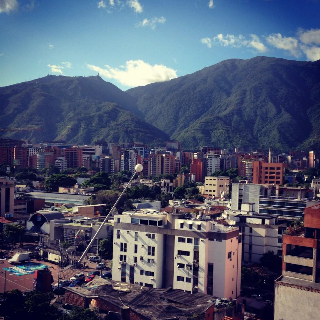 Caracas con el filtro X-Pro II