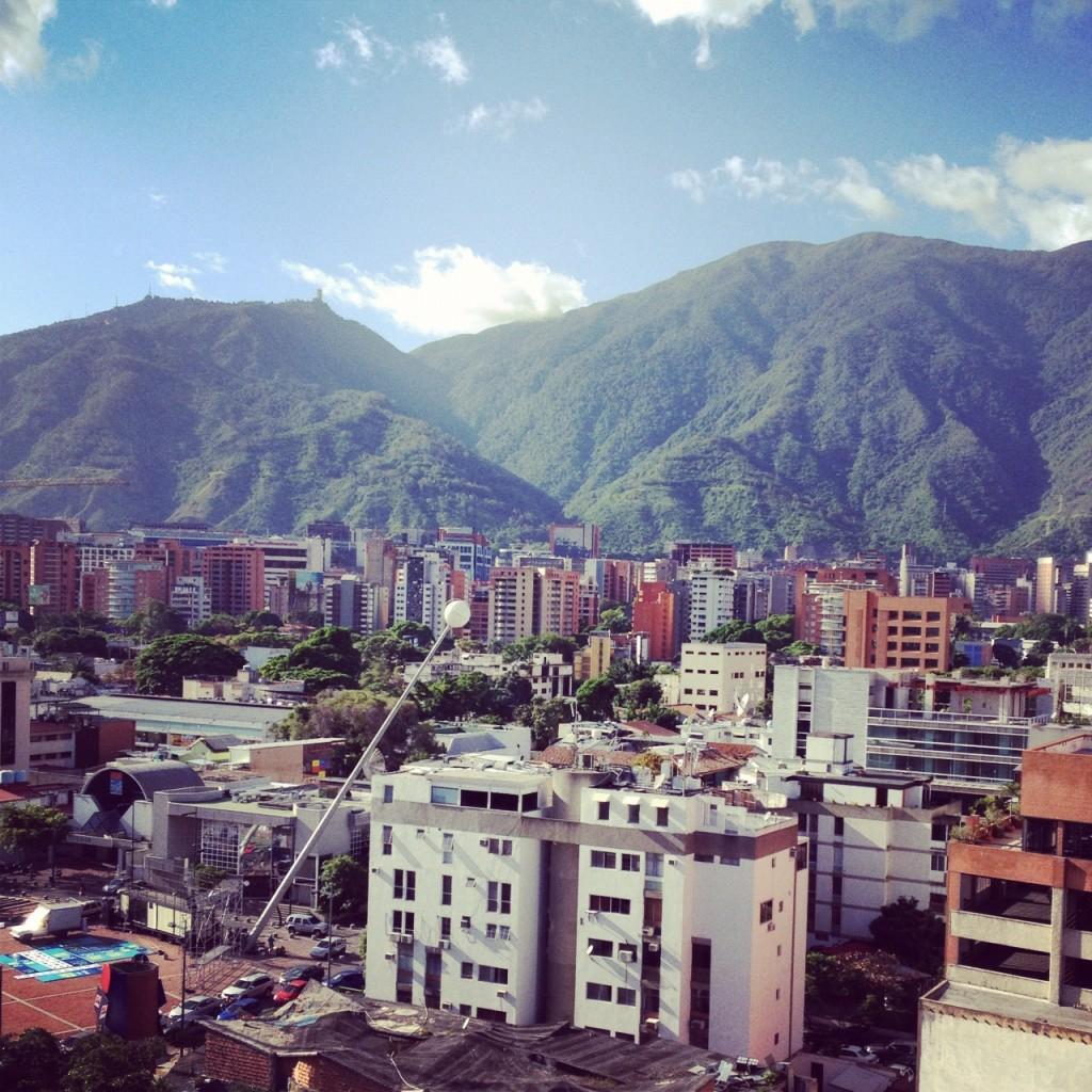 Caracas con filtro Amaro