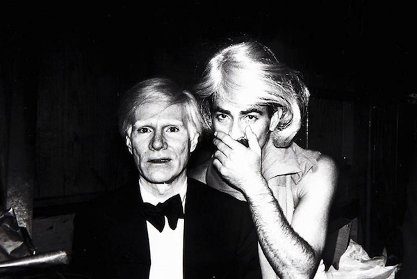 Andy Warhol y Víctor Hugo