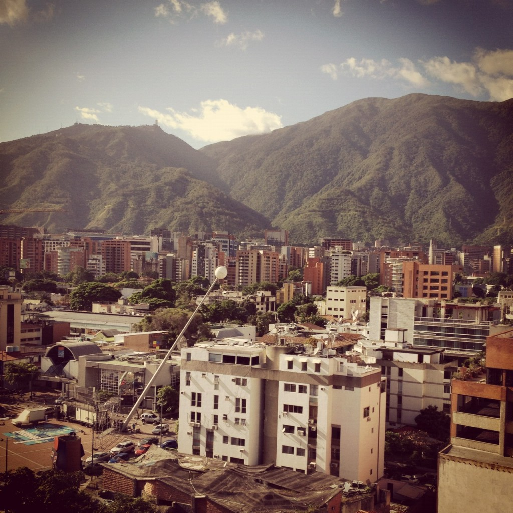 Caracas con el filtro Earlybird