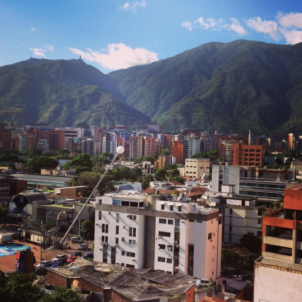 Caracas con el filtro Mayfair