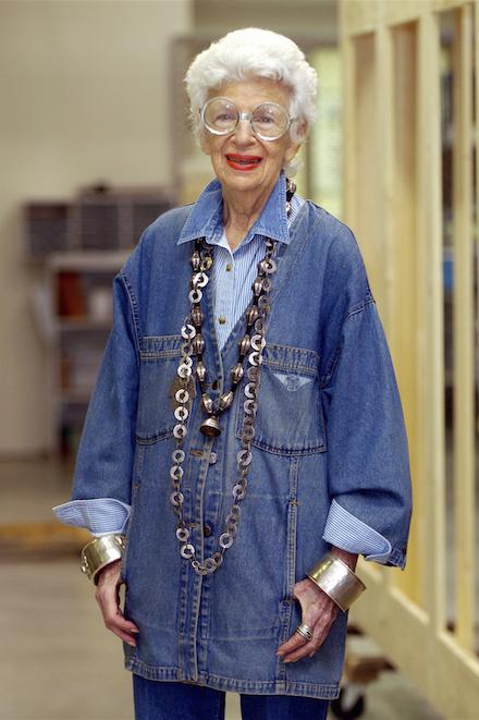 Iris Apfel, la it grandma
